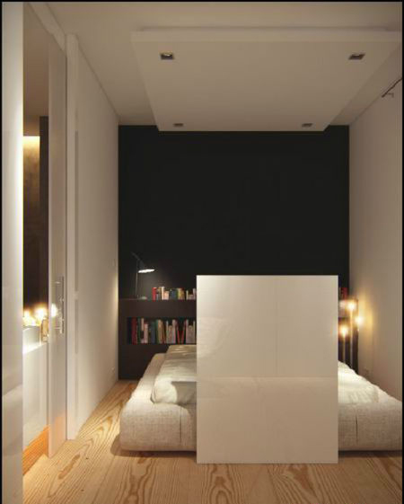 80平米的米咖色现代简约设计